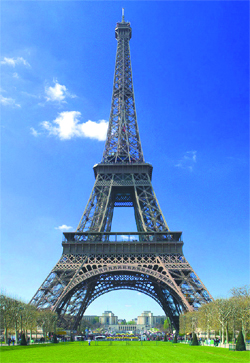 Giraffe  Eiffel Tower Picture on Eiffel Tower To Become World   S Greenest Tourist Attraction    Bivnze